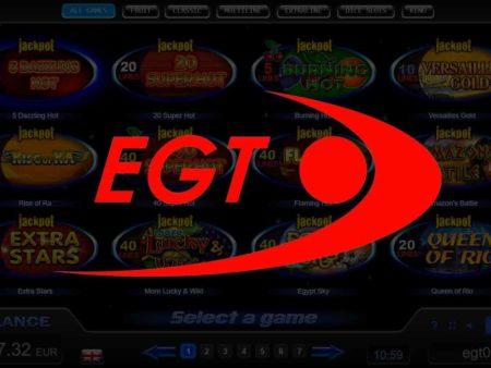 Most advantageous EGT Slot Games