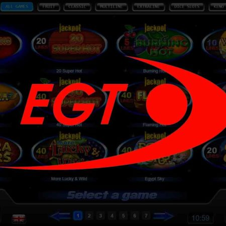 Most advantageous EGT Slot Games