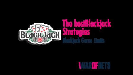 Blackjack Strategies and Game Limits