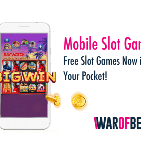 Mobile Slot Games – Free Slot Games Now in Your Pocket!