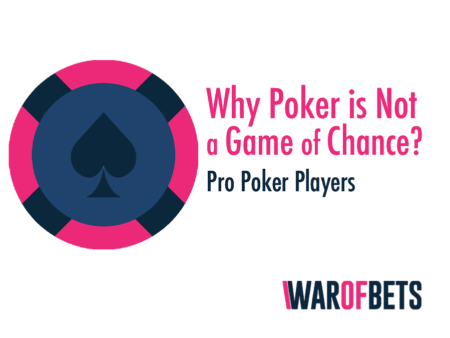 Why Poker is Not a Game of Chance?
