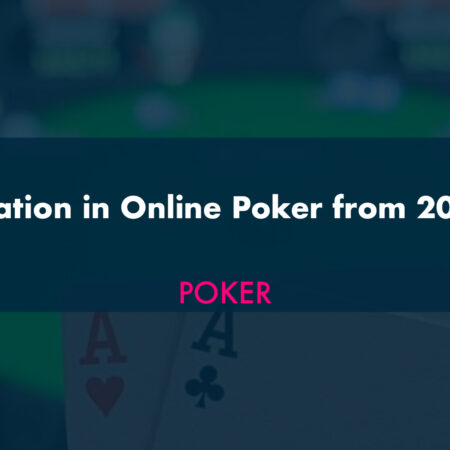 The Situation in Online Poker from 2007-2020