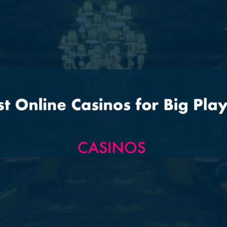Best Online Casinos for Big Players