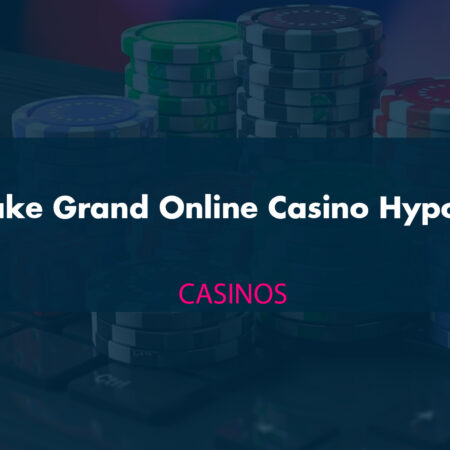 The Fake Grand Online Casino Hypothesis