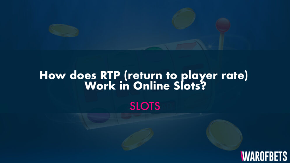 How does RTP (Return to Player Rate) Work in Online Slots?