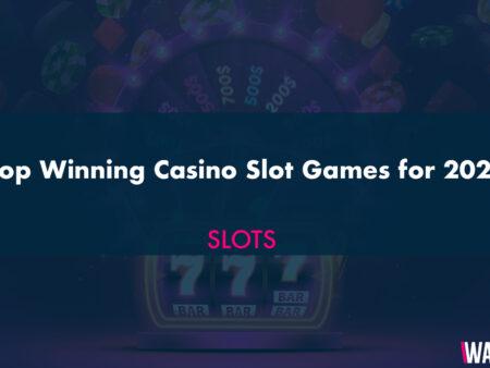 Top Winning Casino Slot Games for 2021